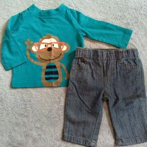 Baby Boys Monkey Outfit!